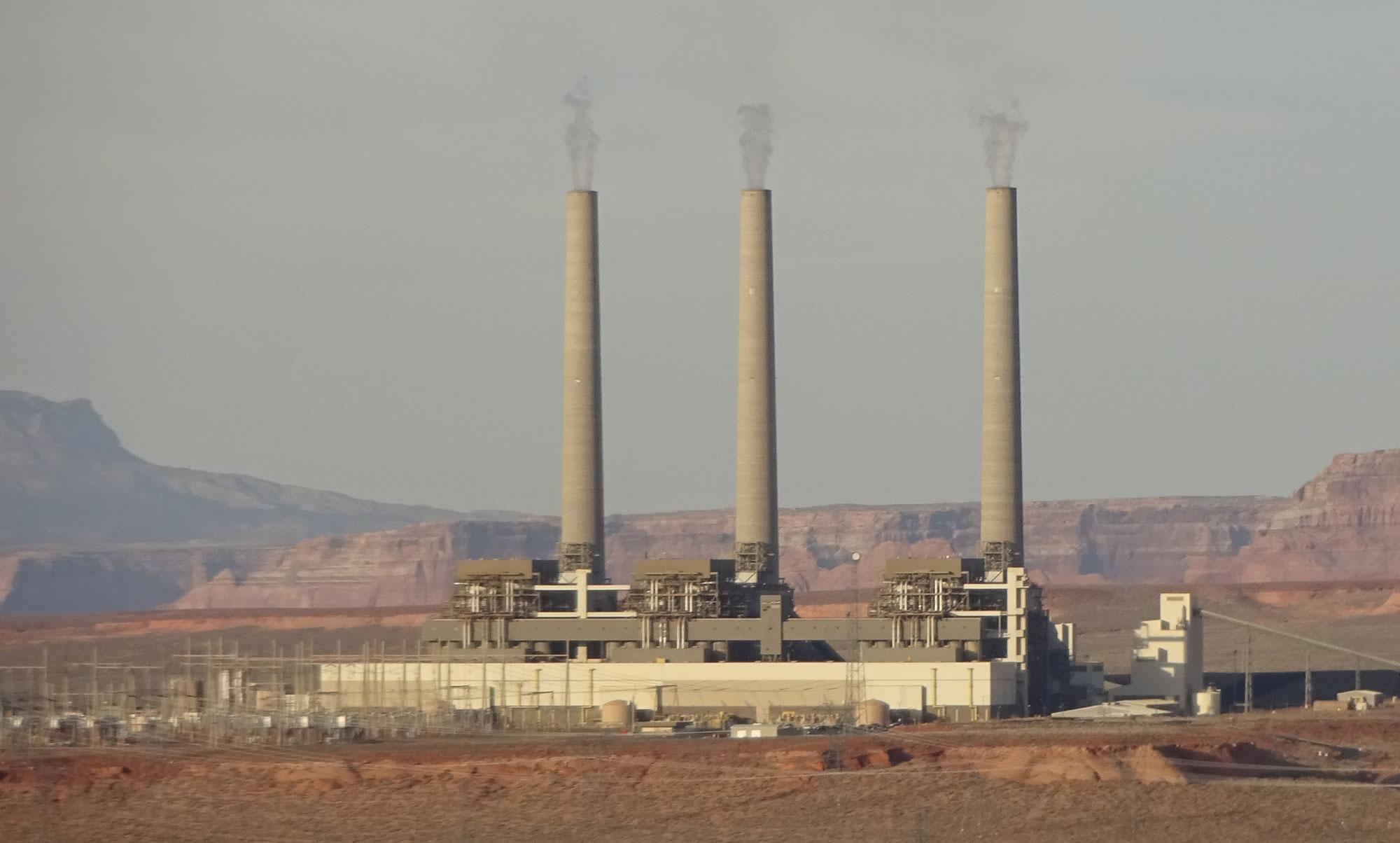 Stillegung in USA 2019 Navajo-Power-Station 2.200 MW - 3 Kessel, gebaut 1974 - 46 Jahre Betrieb